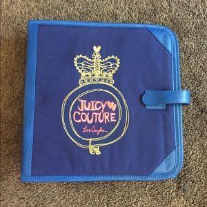 Juicy Couture Binder & Folder